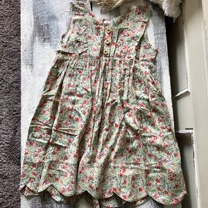 Matilda Jane Serendipity Floral Bubblegum Dress 8